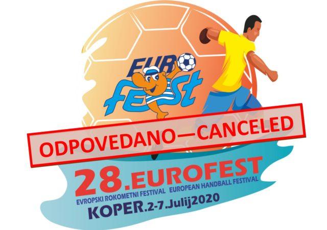 Odpovedujemo 28. Eurofest